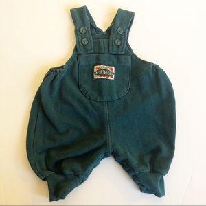 Vintage circo bubble overalls